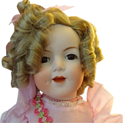 Shirley Temple Doll by Doll maker  Patricia Mc Nish