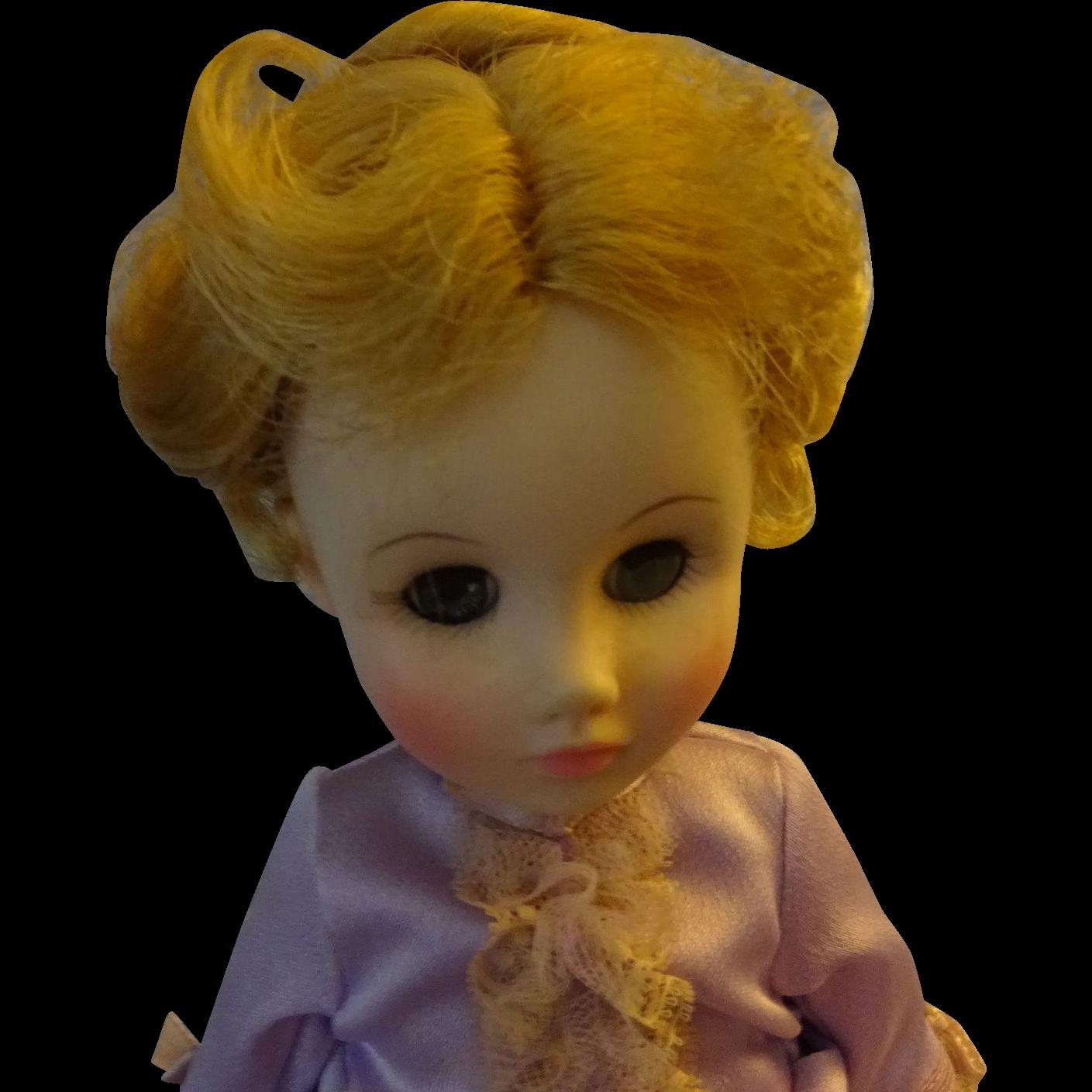 "Madame Alexander Vinyl Doll  ""Lucretia Garfield""  Presidents Wives"