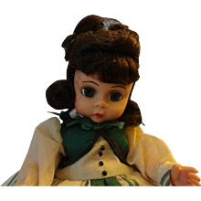 "Madame Alexander ""Scarlett""  Vinyl Doll"