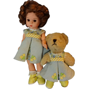 Madame Alexander Vinyl doll with Bear