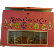 Kiddles Collector Case  with Kiddle  Dolls