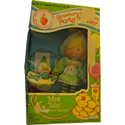 "Strawberry Shortcake  ""Mint Tulip and Marsh Mallard"" in original box"