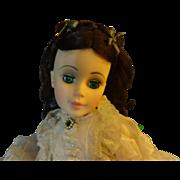 "Madame Alexander Scarlett   ""White Prayer Dress"""