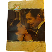 Gone with the Wind 50th Anniversary Program  1939-1989