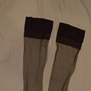 Vintage Nylon Stockings by Van Raalte ~ Safari ~ Sz 11 ½