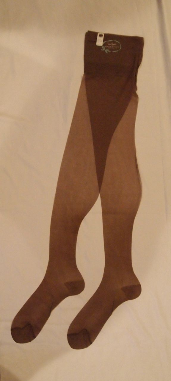 Vintage Nylon Stockings by Van Raalte ~ Taupe Haze ~ 11