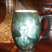 Antique P.H. Leonard Vienna Hand Painted Signed Portrait Stein