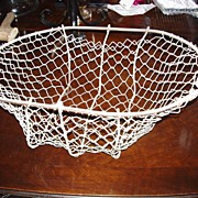 Antique Vegetable Harvest Hand Made Wire Basket