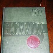 1939 Sagamore Yearbook