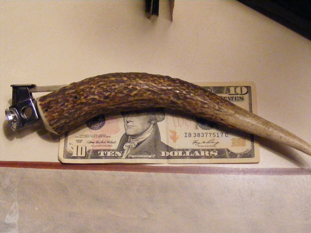 Vintage Antler Handle Cigar Cutter