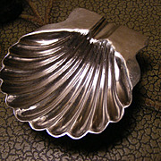 Pretty Sterling Sea Shell Ring Dish
