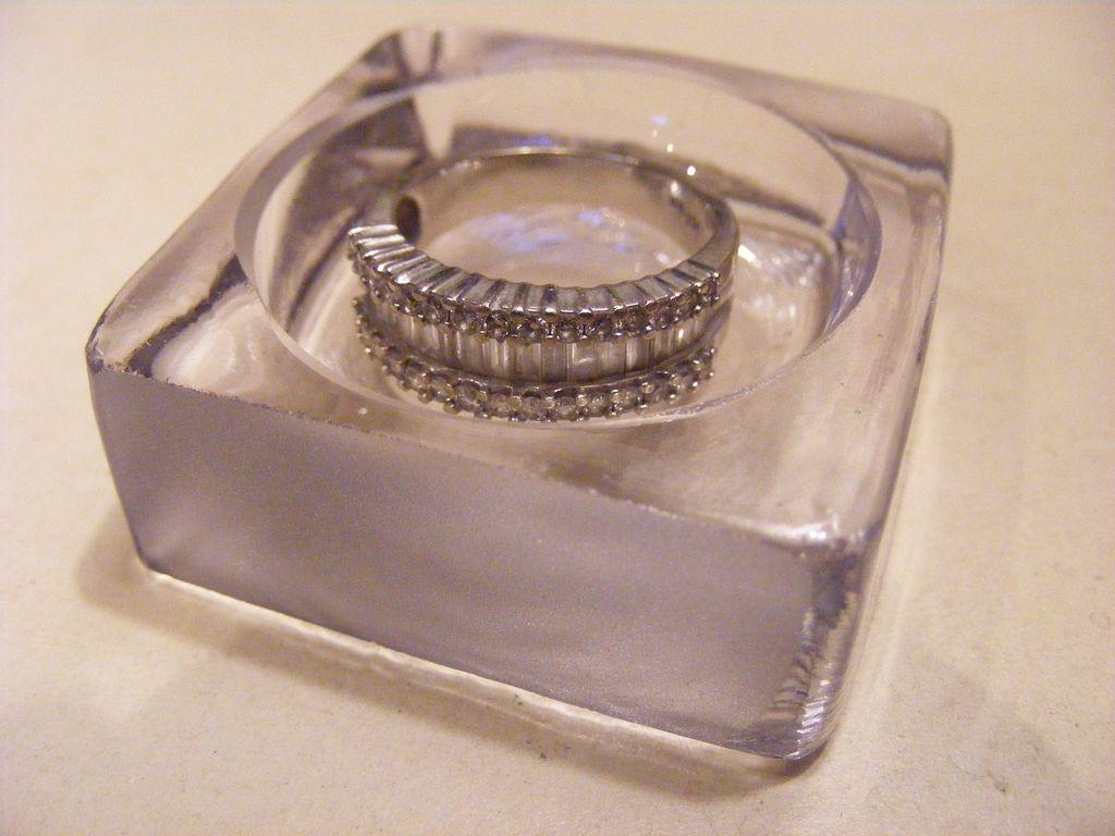Antique Specimen Dish - Open Salt or Ring Dish