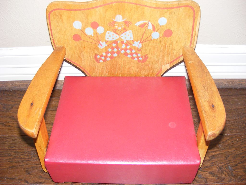 Iconic 1950's Irmi Child's Booster Chair