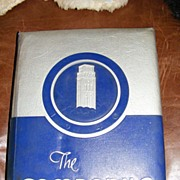 1940 Rice University Houston Texas Yearbook