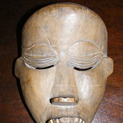 Vintage African Mask from the Dan People of Ivory Coast - Red Tag Sale Item