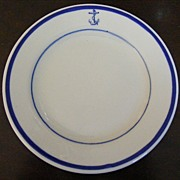 Tepco China US Navy Bread Plate