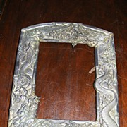 Japanese Edo Period Bronze Picture Frame