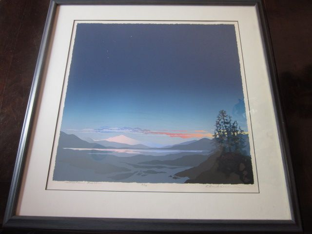 "Signed Print  ""Mountain Peace"""