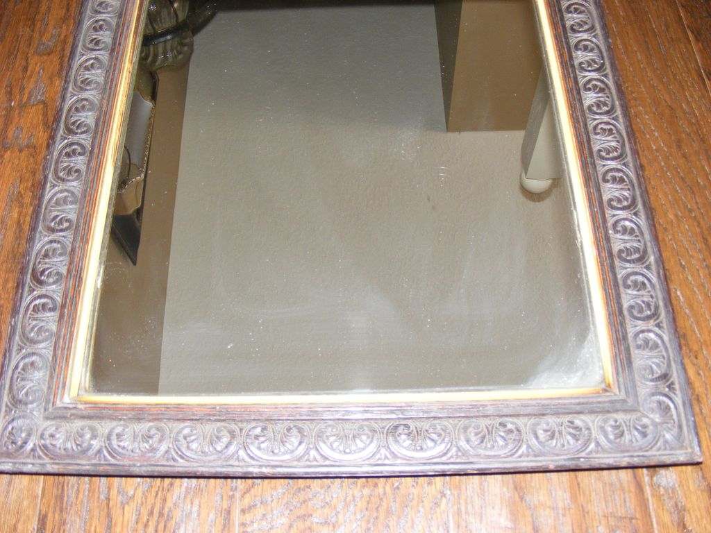 Antique Walnut Mirror