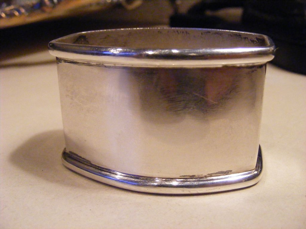 .800 Silver Napkin Ring