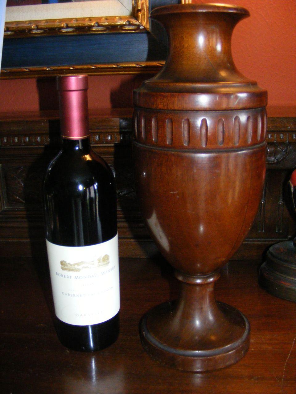 """Vintage Wooden """"vase"""""""