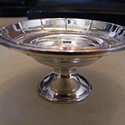 Vintage Webster Sterling Silver Open Salt