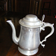 Aquinas Locke Pewter Tea Pot