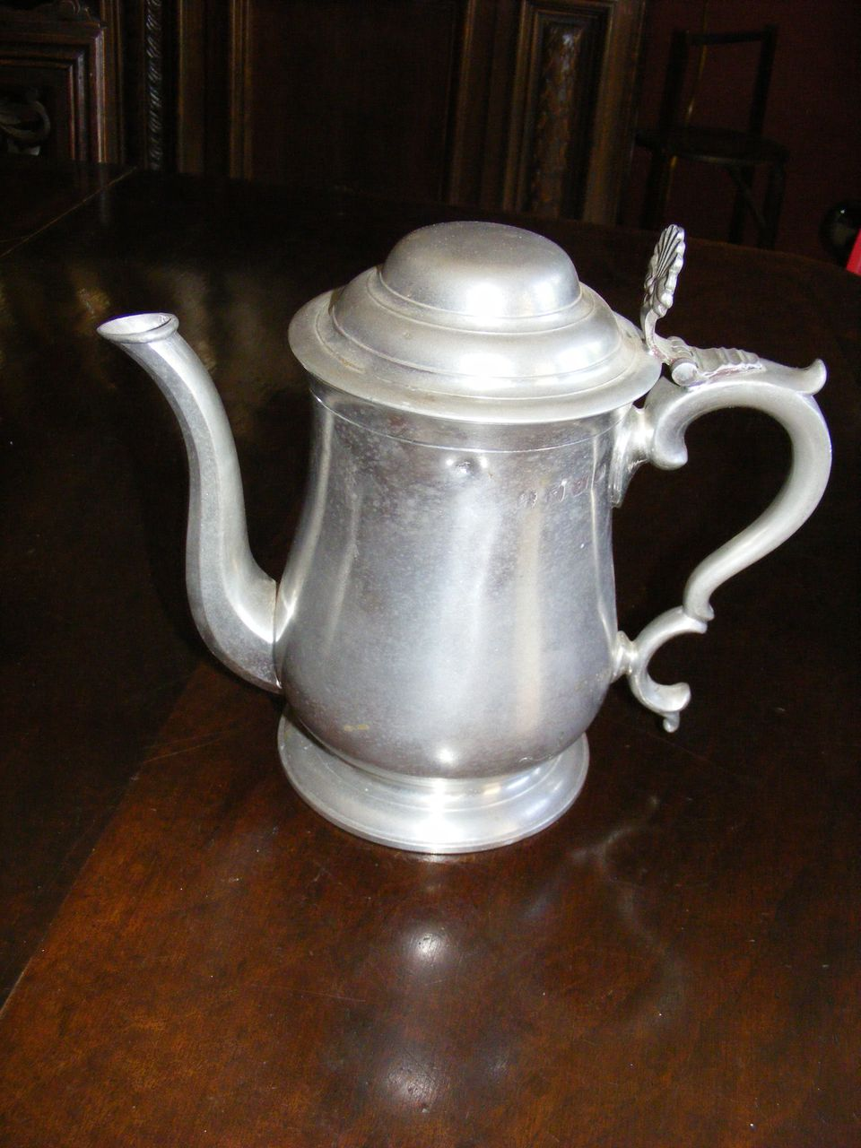 Aquinas Locke Pewter Tea Pot