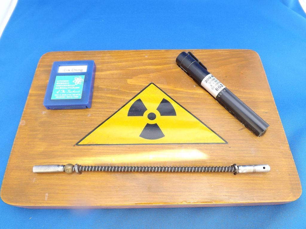 Neat Personalized Nuclear Power Plant Award Plaque