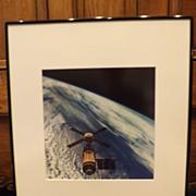 Vintage NASA Photo - Skylab in Orbit