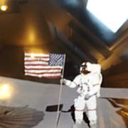 Vintage NASA Photo - Astronaut on Moon