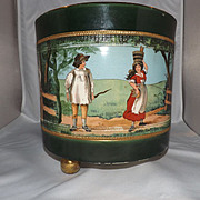 Hand Painted Antique Earthenware G&S Ltd. Albany & Harvey Burslem Centerpiece