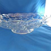 Pattern Glass Serving Bowl / Centerpiece