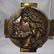Cast Bronze Bust of Jesus