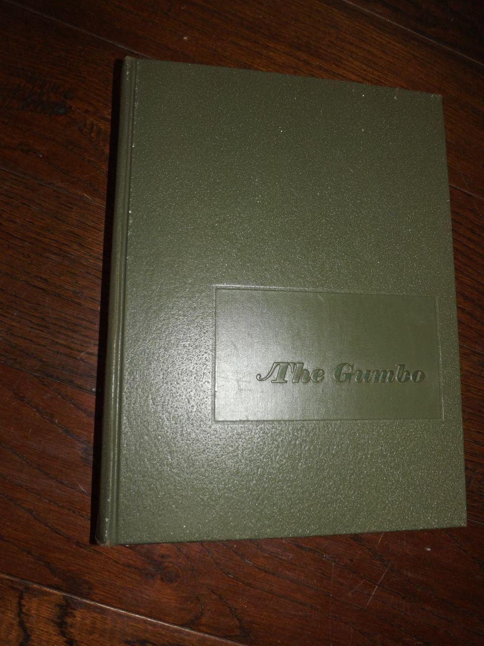 1968 Louisiana State University Gumbo Yearbook
