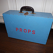 Kitchy 1950's Hand Made wooden PROP Box