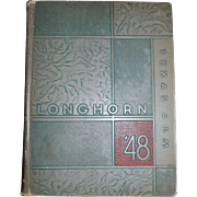 "1948 Texas A&M ""Longhorn"" Yearbook"