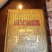 OU University Oklahoma Sooner Golden Anniversary Yearbook 1889 - 1939