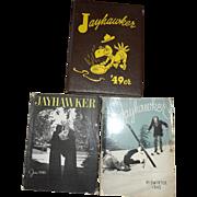 1949 KU Jayhawker Kansas University Magazines Yearbook