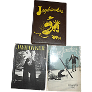 1949 KU Jayhawker Kansas University Magazines Yearbook