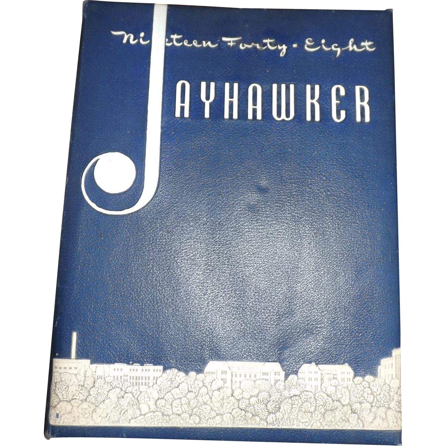 1948 KU Jayhawker Kansas University Yearbook