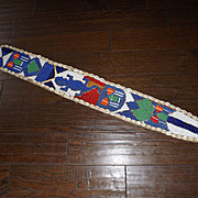 Antique Indian Beaded Wall Hanging