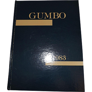 1983 LSU Lousiana State University Gumbo Yearbook