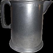 Large Vintage Wilton Armetale Pewter Water Pitcher