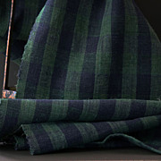 Antique European Hemp Textile - Hand-loomed Cloth
