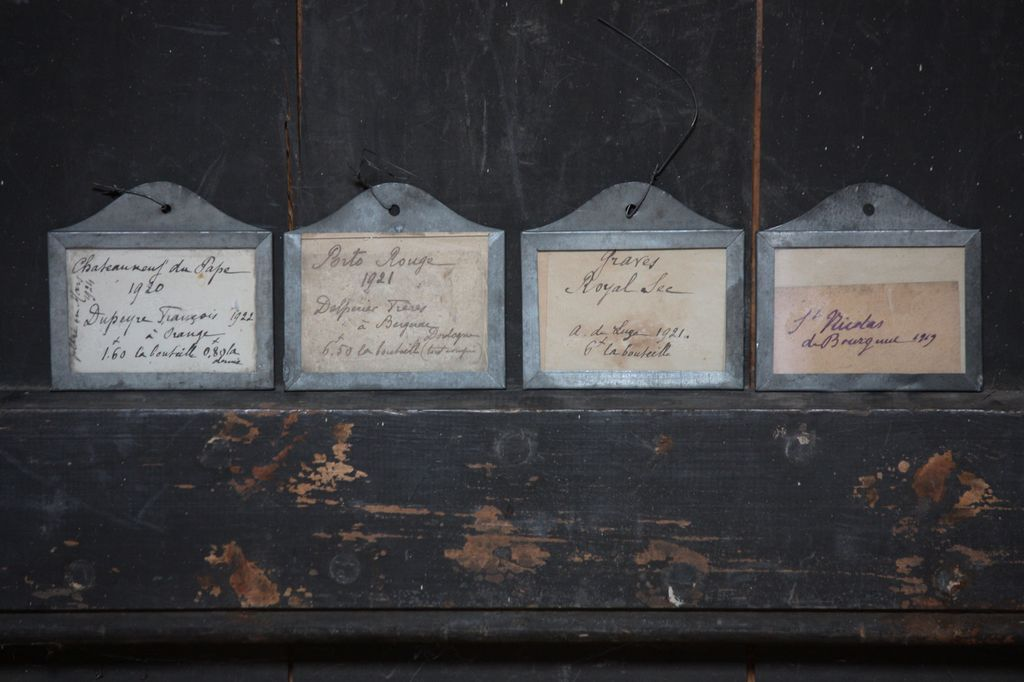 Antique French Wine Bin Cellar Labels Amp Glass Seed Vials