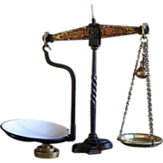 English Avery Balance Scales