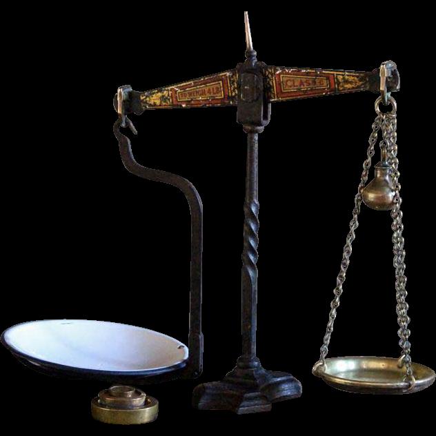 English Avery Balance Scales
