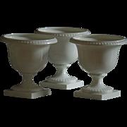 Royal Worcester Bone China Urn / Vase TRIO - Red Tag Sale Item