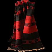 Vintage Hand Woven Balkan Kilim - Wool Rug